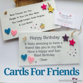 Superb Happy Birthday Card With Name And Photo Funny Birthday Cards Online Sheoxdamsfinfo