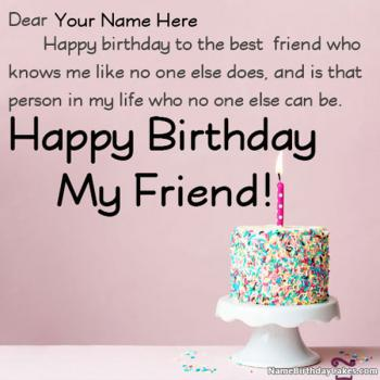 Admirable Happy Birthday Wishes With Name And Photo Funny Birthday Cards Online Elaedamsfinfo