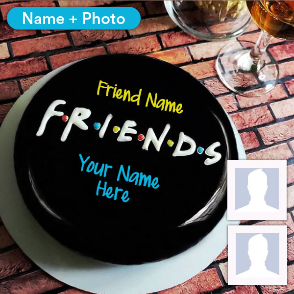 Phenomenal Happy Birthday Cake With Name For Friend Funny Birthday Cards Online Chimdamsfinfo