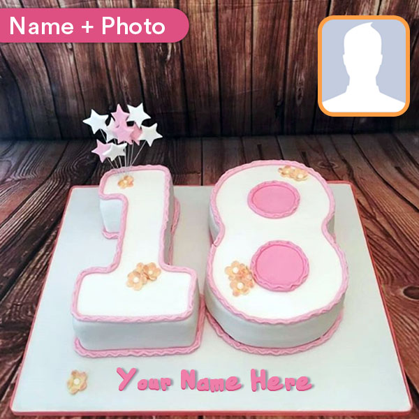 Astonishing Happy Birthday Cakes By Age With Name And Photo Funny Birthday Cards Online Chimdamsfinfo