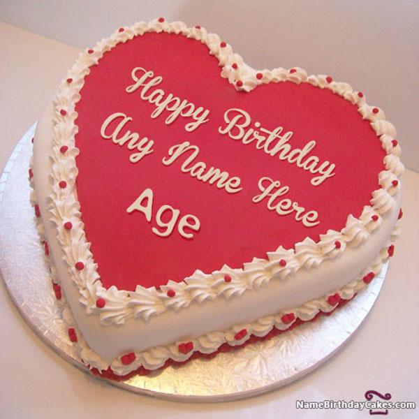 Sensational Happy Birthday Cake With Name And Photo Personalised Birthday Cards Arneslily Jamesorg