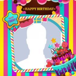 Free Download Happy Birthday Photo Frames