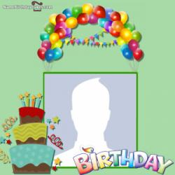 Online Happy Birthday Photo Frame Editor