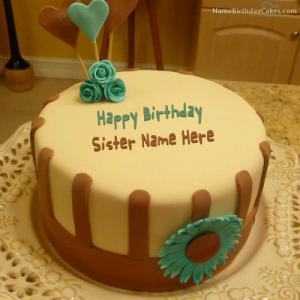 Best Birthday Cake For Sister With Name