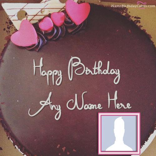 Amazing Chocolate Birthday Cake For Lover