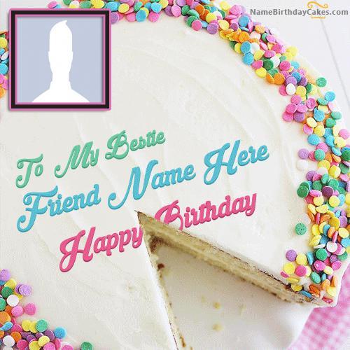 Beautiful Birthday Cake for Friends