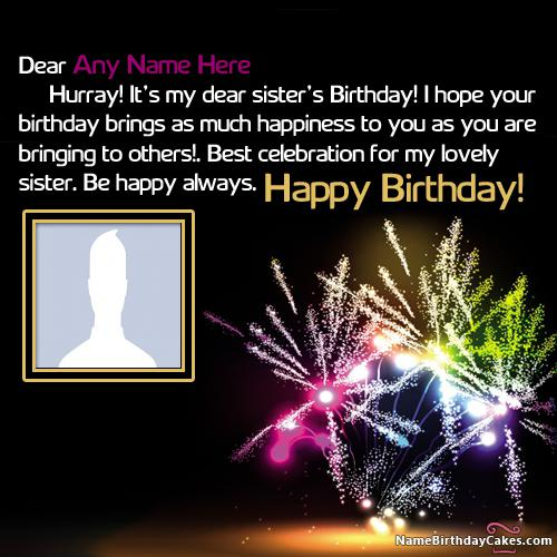 Beautiful Happy Birthday Wishes For Sister