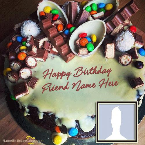 Best Chocolates Black Forest Cake With Name & Photo