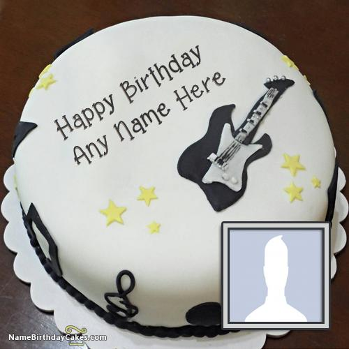 Best Happy Birthday Cake For Singer With Name & Photo