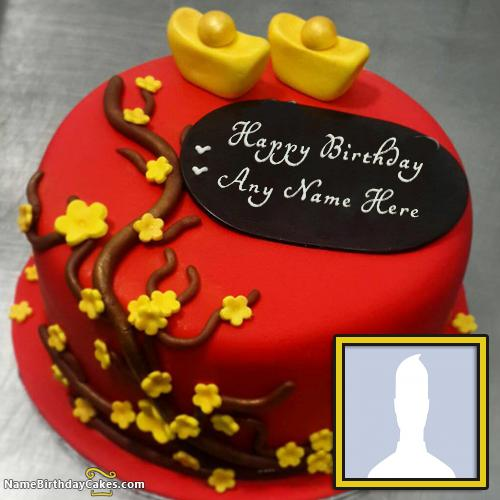 Happy Birthday Message On Cake For Wife ~ Birthday cakes for wife with name and photo