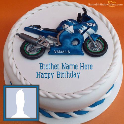 Bike Birthday Cake For Brother
