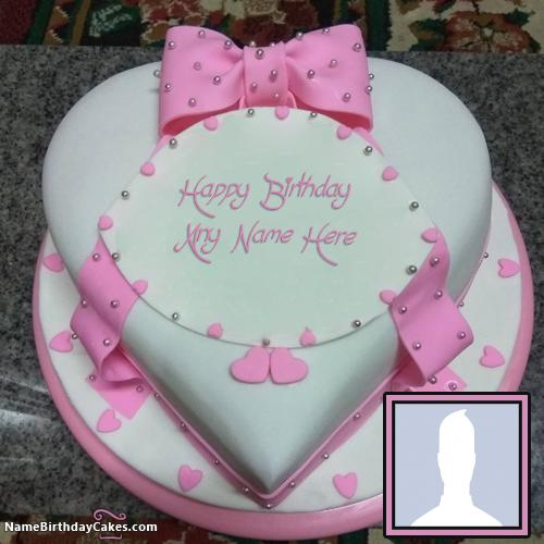 Birthday Cake For Sister Images : Birthday Cake For Sister With Name Edit And Photo - Name+Photo