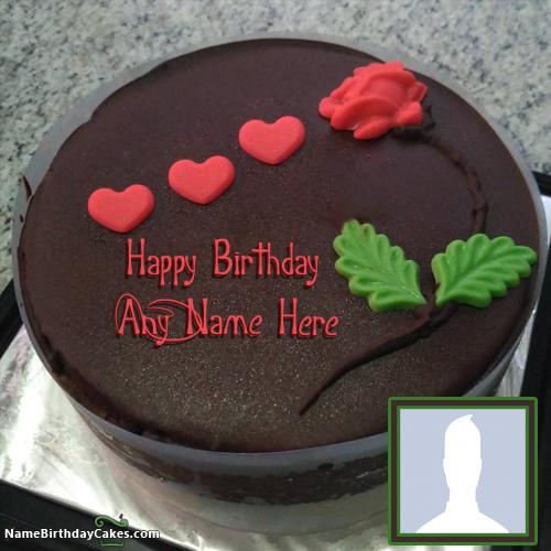 Birthday Cakes For Boys With Name And Photo Wish Online