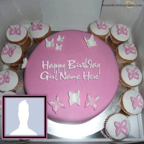 Butterfly Birthday Cake For Girls