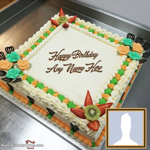 Cake Birthday Images For Brother With Name And Photo & Photo