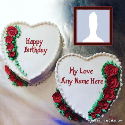 Birthday Cake Pics For Lovers : Cake Birthday Images For Lover With Name And Photo - Name ...