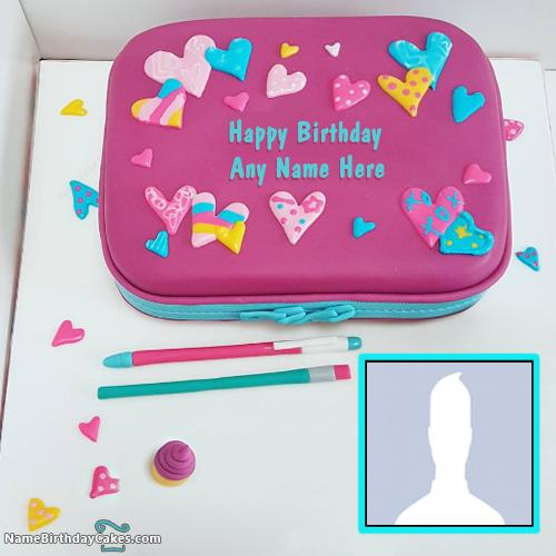 Cakes For Girls Wish Her Birthday Online With Name And Photo & Photo