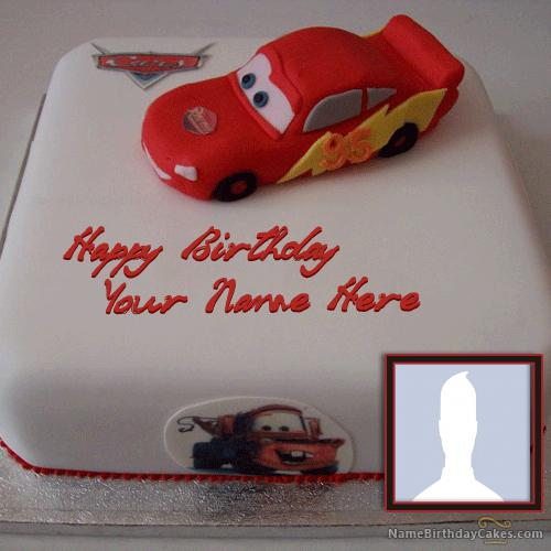 Car Birthday Cake for Kids