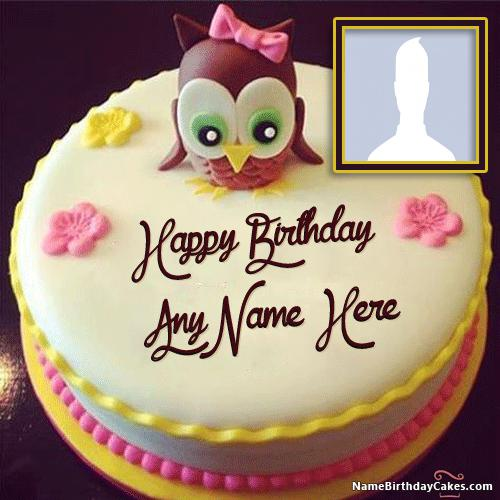 Birthday Cake For Kids With Name - Cartoon birthday cake images