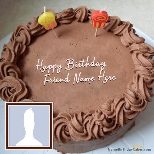 Chocolate Birthday Cake for Friend