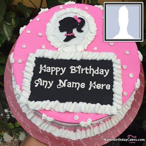 Decorated Strawberry Cake For Girls Birthday