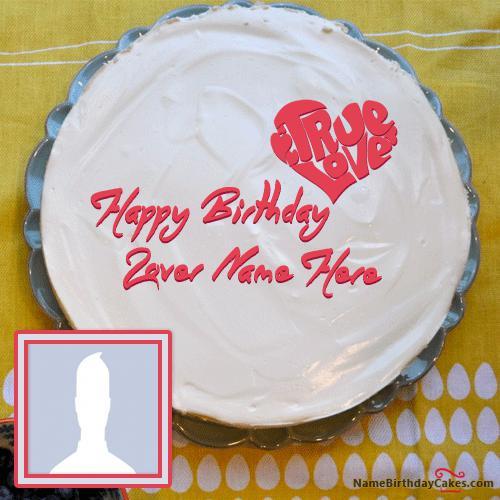 Fabulous Birthday Cake For Lover