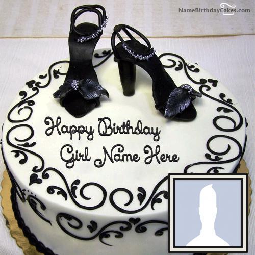Fashion Happy Birthday Cake For Girls