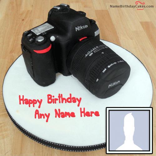 Happy Birthday Cake For Photographer