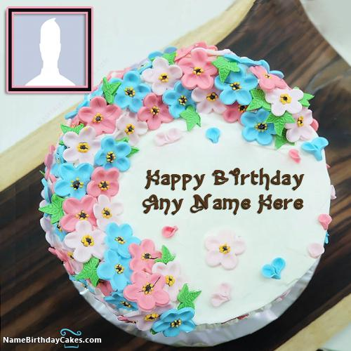 Happy Birthday Sister Images Of Cakes With Name And Photo & Photo