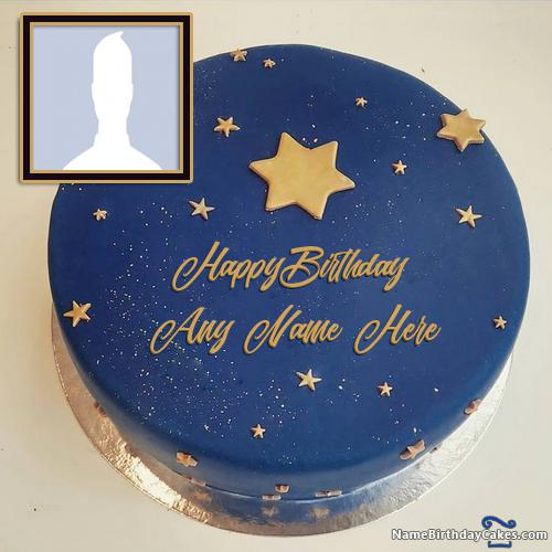 Images Of Birthday Cake For Friend With Name & Photo