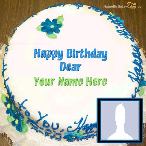 Happy Birthday Dear With Name & Photo