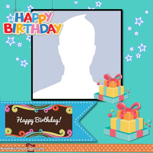 Personalized Happy Birthday Picture Frame