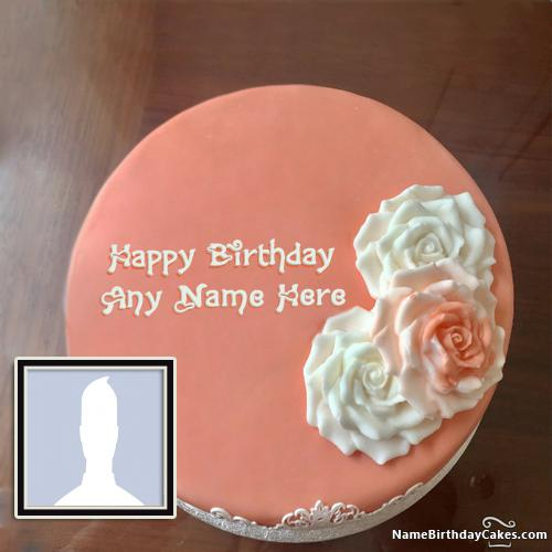 Special Birthday Cake For Lover Image With Name & Photo