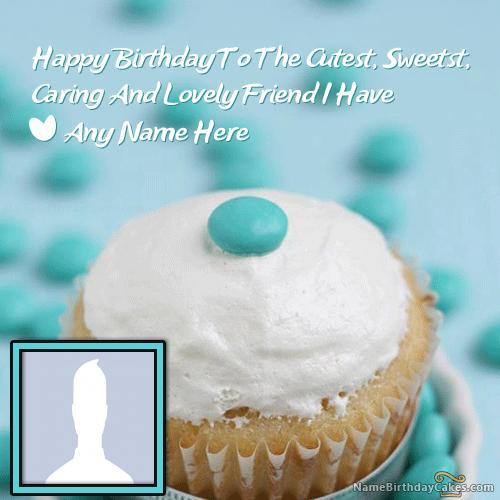 Yummy Cupcake Birthday Wish