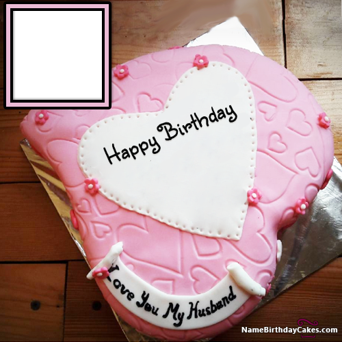 Incredible Birthday Cake Images For Husband With Photo Personalised Birthday Cards Veneteletsinfo