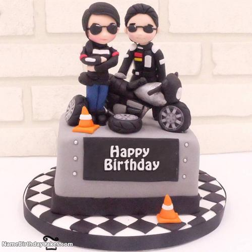 Bikers Birthday Cake Images For Boys