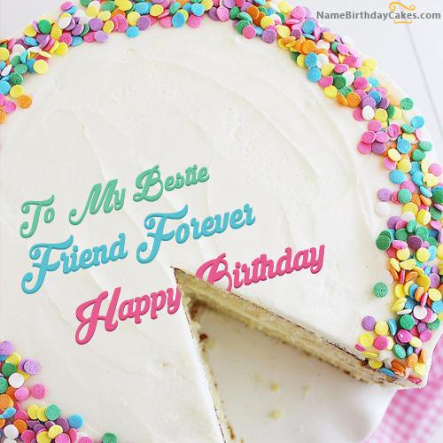 Friend Forever Birthday Cake Images