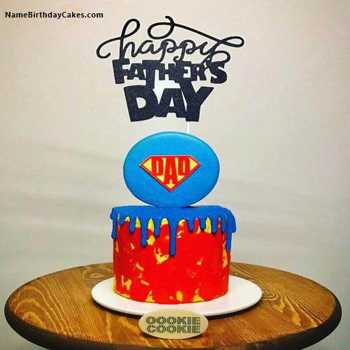 Happy Fathers Day Cookies