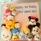 Awesome Mix Cartoon Faces Birthday Cake For Kids