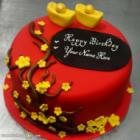 Best Red Velvet Cakes For Wife Birthday With Name