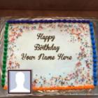 Birthday Cake For Dad Wish Him With Name And Photo