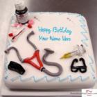 Birthday Cake For Doctor
