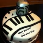 Birthday Cake For Musician