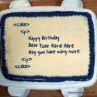 Birthday Cake For Programmer