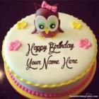 Cartoon Birthday Cake For Kids