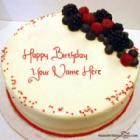 Cherry Red Velvet Cake