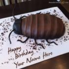 Cockroach Birthday Cake