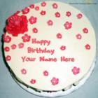 Fondant Birthday Cake For Girls
