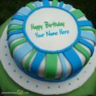 Fondant Birthday Cake For Sister