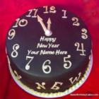 Happy New Year Countdown 2017 Cake